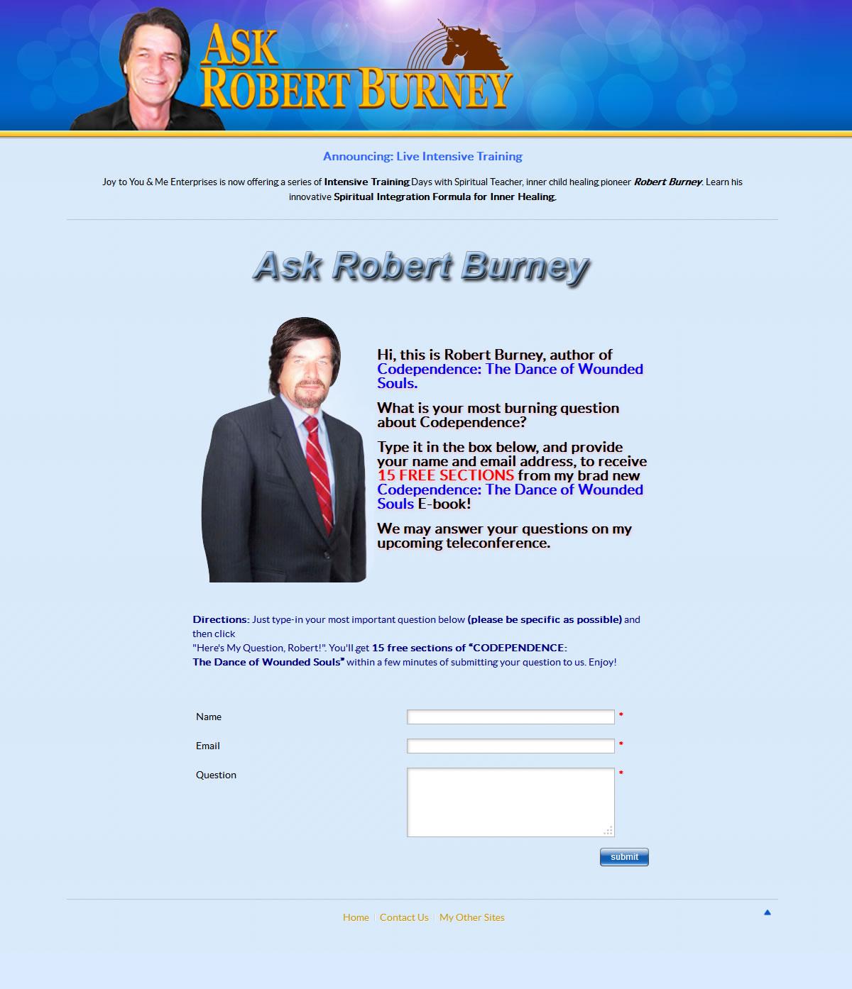 Ask Robert Burney